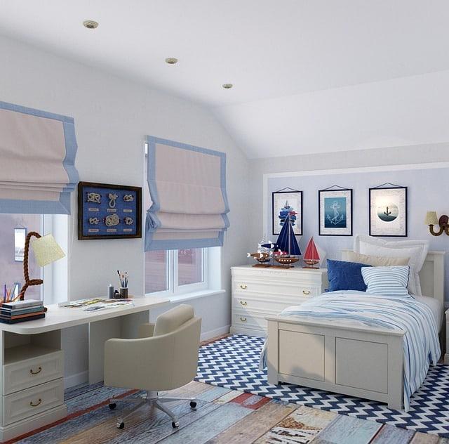 שטיח גיאומטרי לעיצוב חדרי ילדים